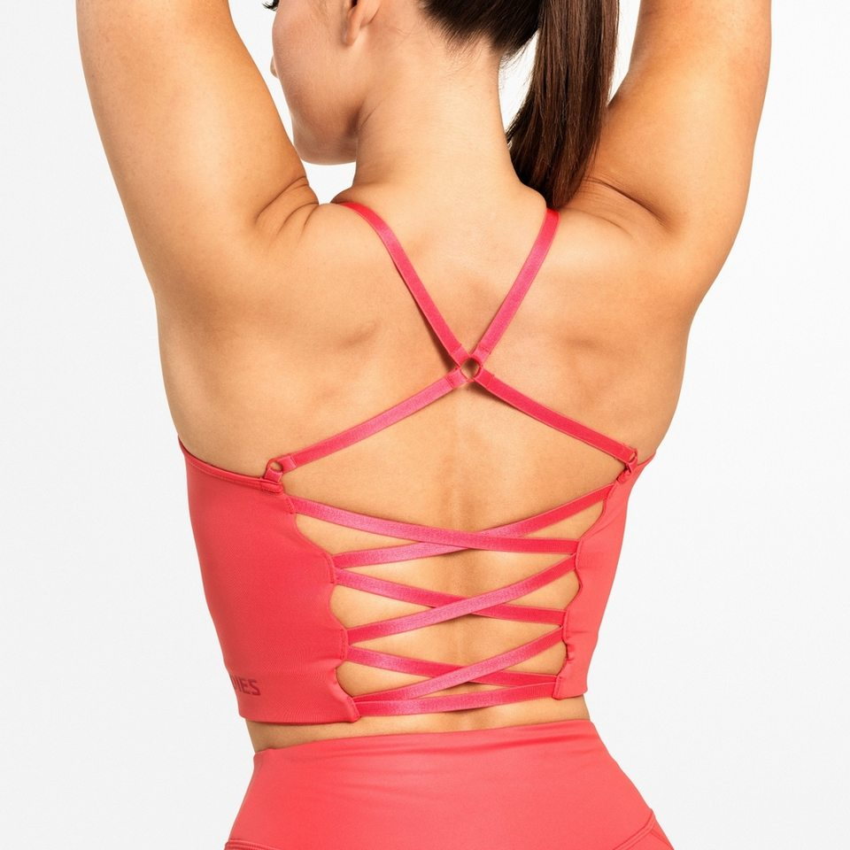 Спортивный топ Better Bodies Vesey Strap Top, Coral