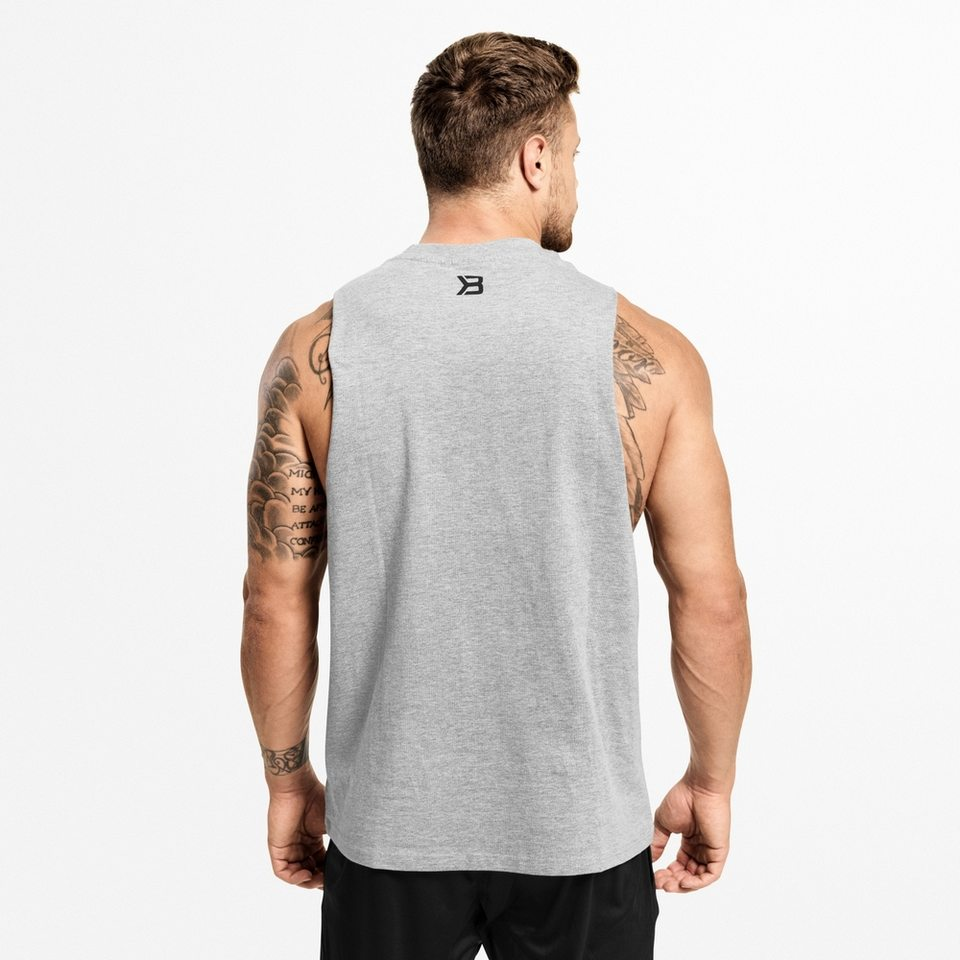 Спортивная майка Better Bodies Team BB Tank, Grey Melange
