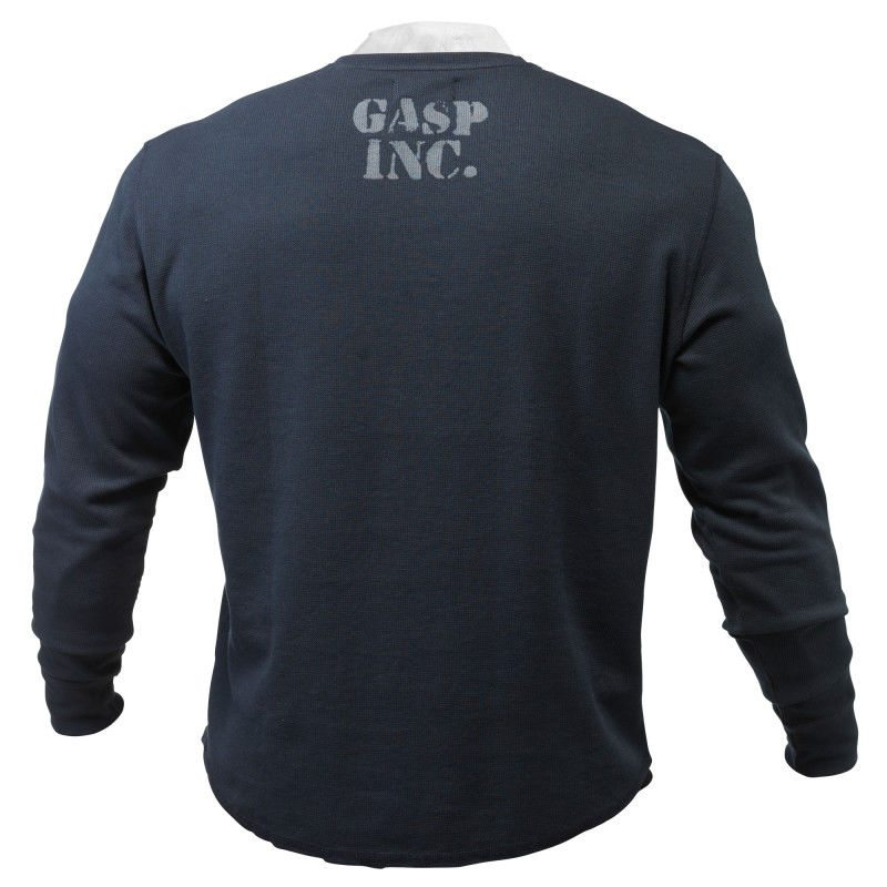 Свитер GASP Thermal Gym Sweater, Asphalt