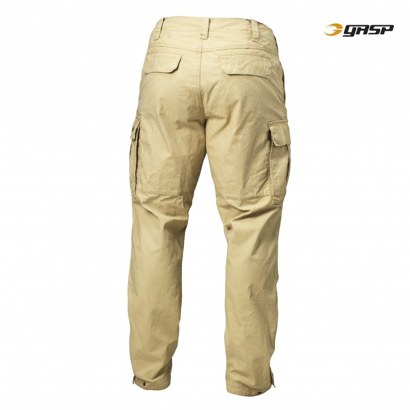 Уличные брюки GASP Rough Cargo Pants, Dark Sand