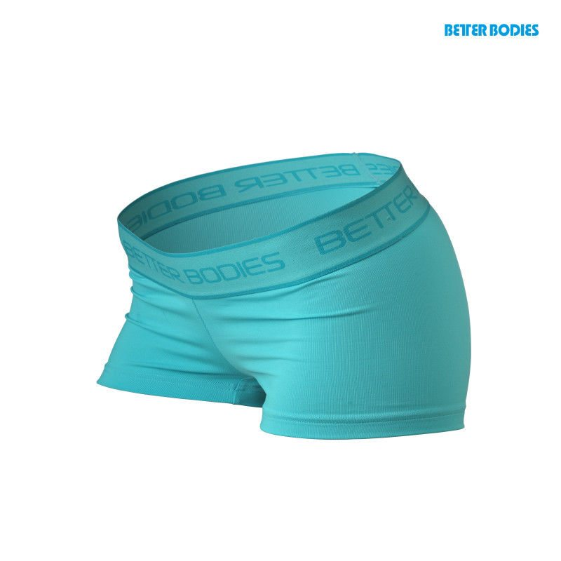 Спортивные шорты Better Bodies Fitness Hot Pant, Aqua Blue