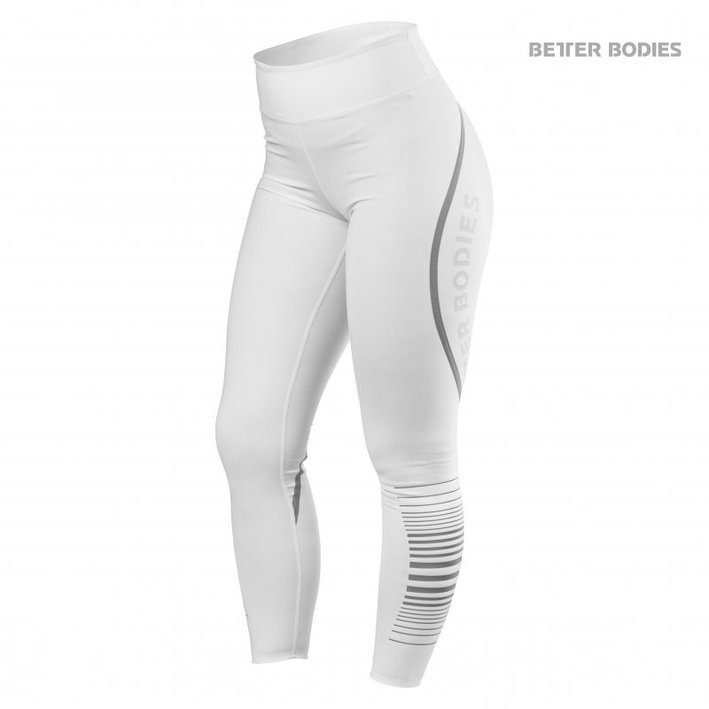 Лосины Better Bodies Madison Tights, White