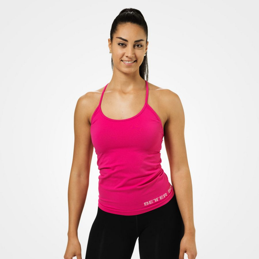 Спортивная майка Chrystie Tank, Hot pink