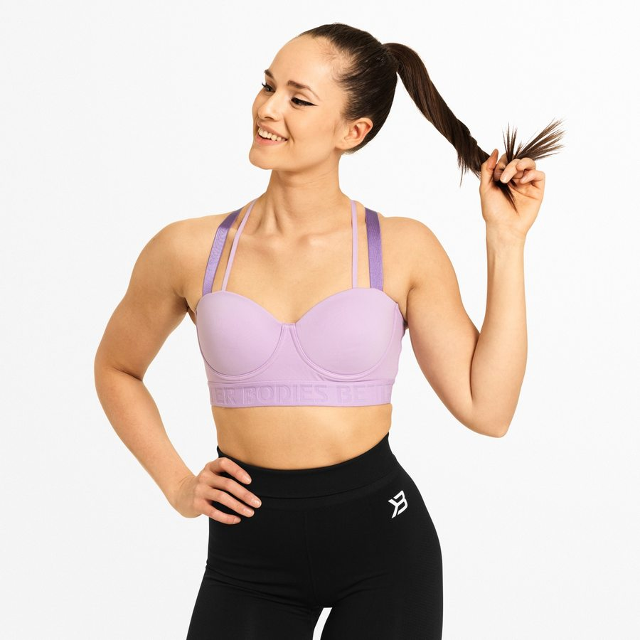 Спортивный топ Better Bodies Waverly Sports Bra, Lilac