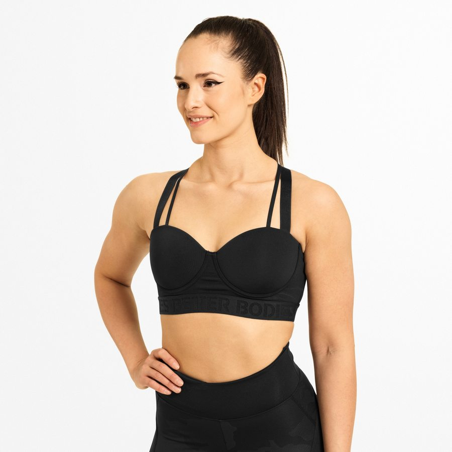 Спортивный топ Better Bodies Waverly Sports Bra, Black