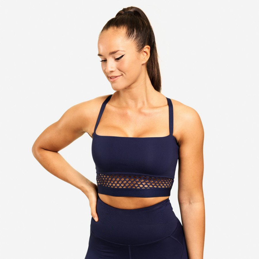 Спортивный топ Better Bodies Waverly Mesh Bra, Dark Navy