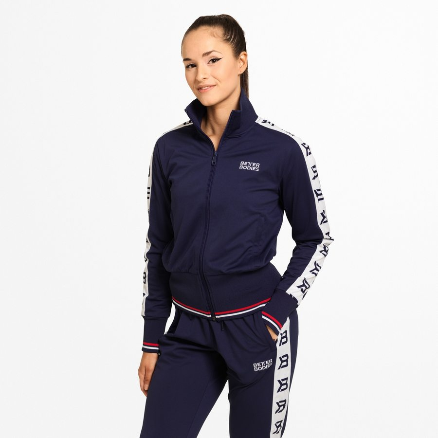 Спортивная куртка Better Bodies Chelsea Track Jacket, Dark Navy