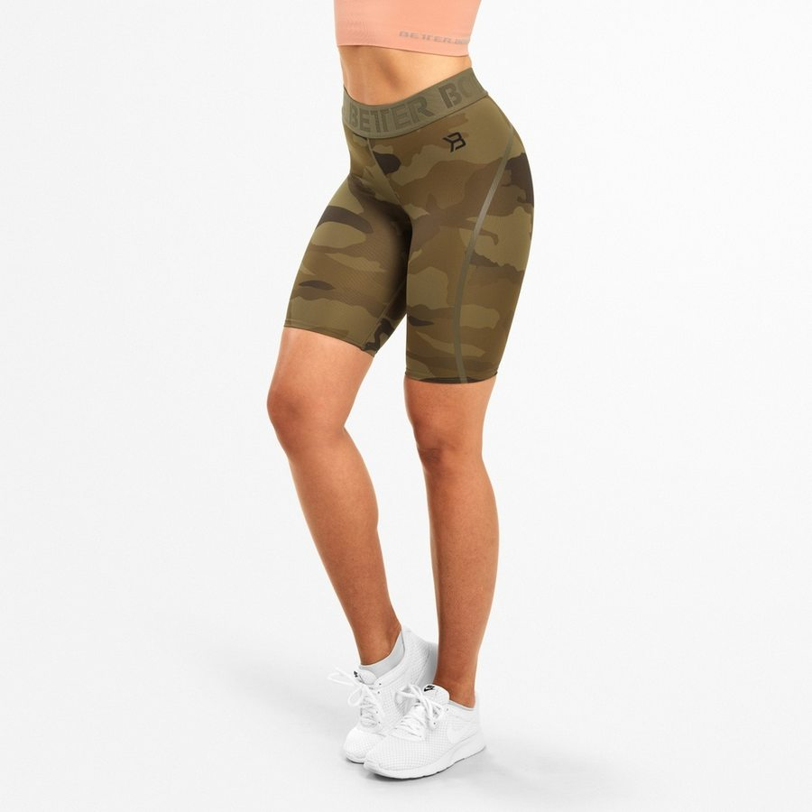 Спортивные шорты Better Bodies Chelsea Shorts, Dark Green Camo