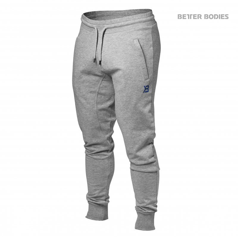 Штаны BB Tapered Joggers, Grey Melange