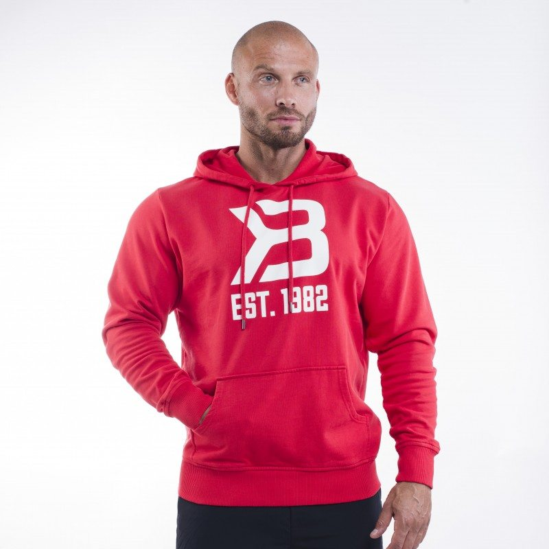 Толстовка Gym Hoodie, Bright Red