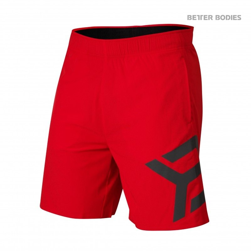 Шорты Better Bodies Hamilton Shorts, Bright Red