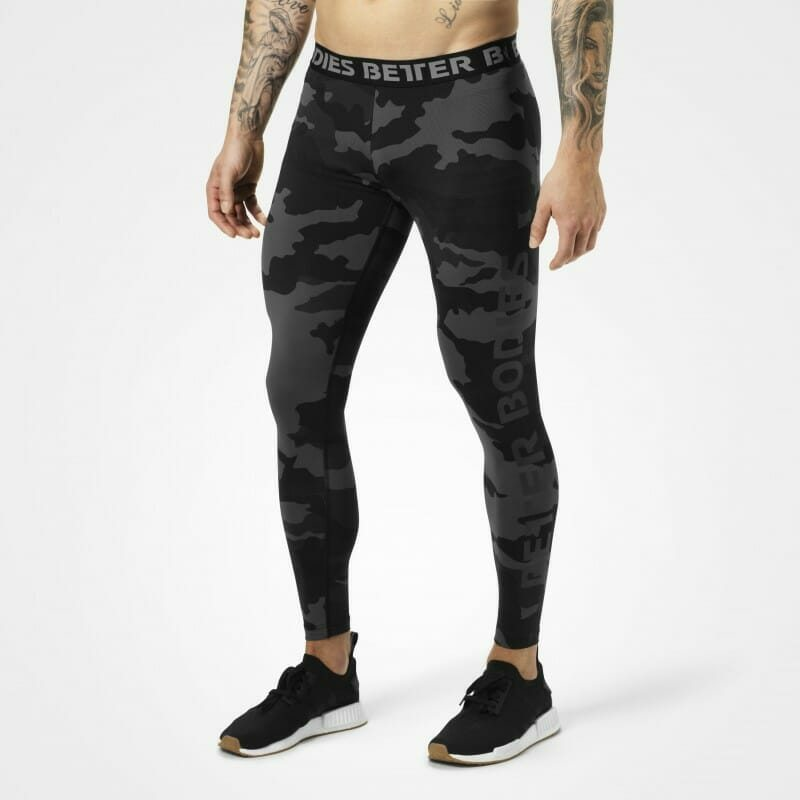 Мужские лосины BB Hudson Logo Tights, Dark Camo