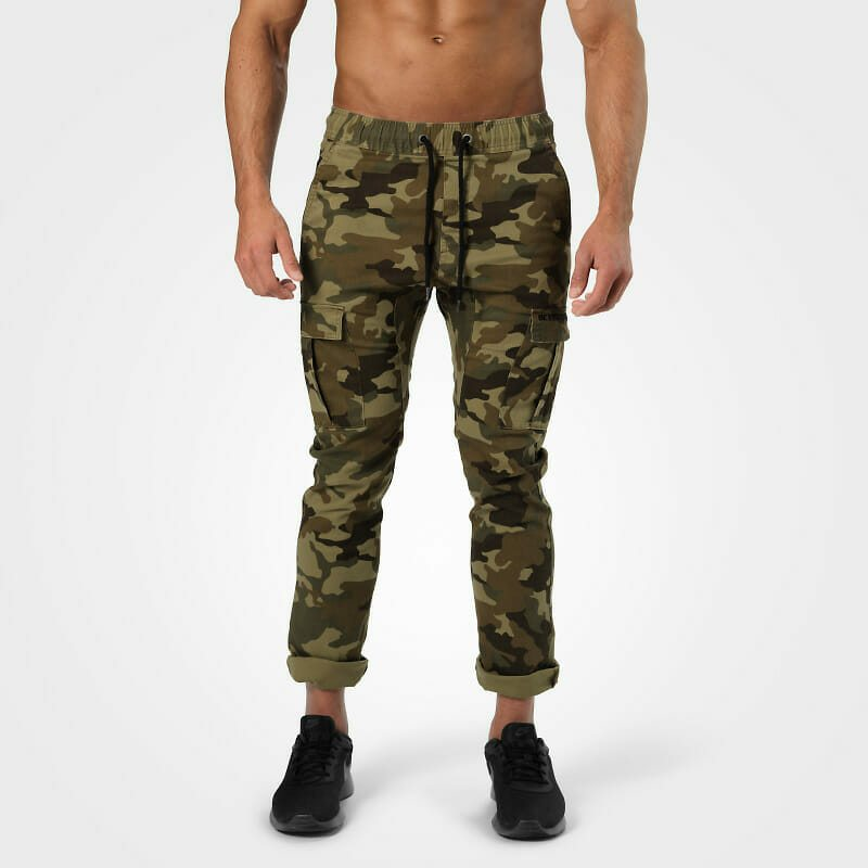Уличные брюки Harlem Cargo Pants, Military Camo