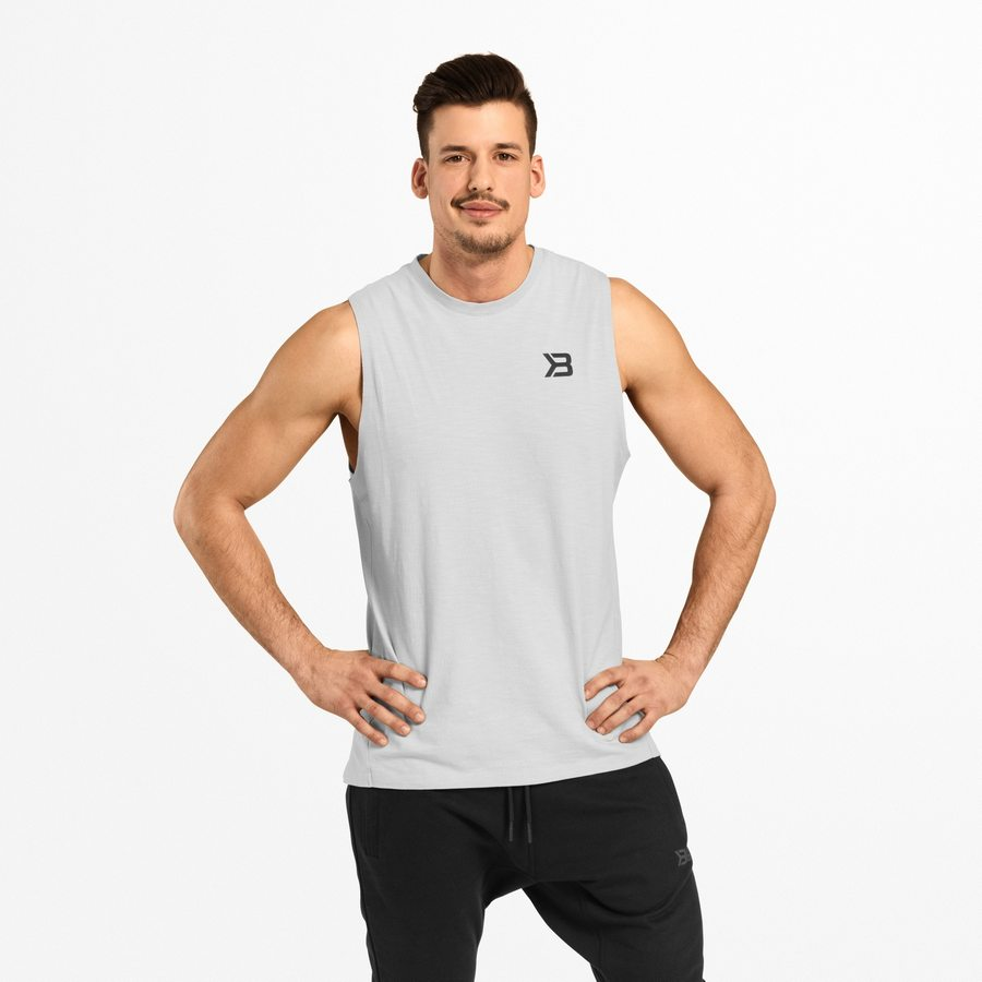Спортивная майка Better Bodies Varick Tank, Frost Grey