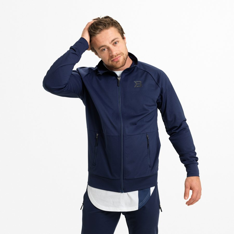 Спортивная куртка Better Bodies Varick Zip Jacket, Dark Navy