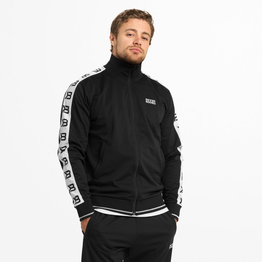 Спортивная куртка Better Bodies Bronx Track Jacket, Black