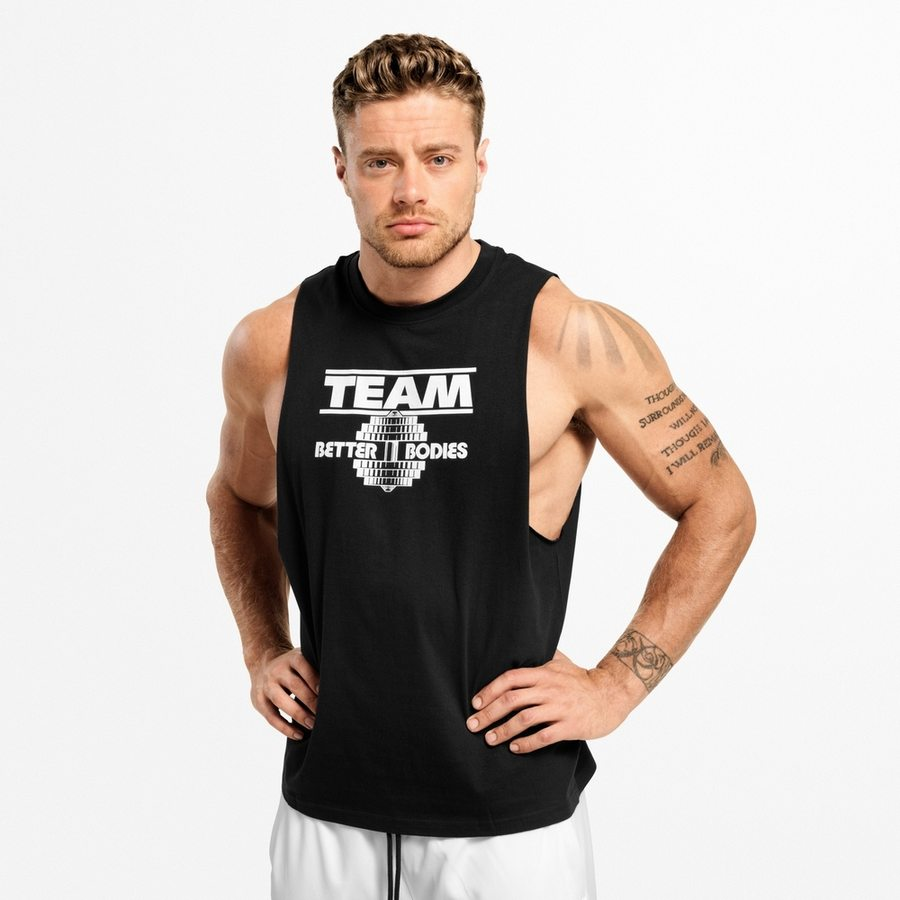 Спортивная майка Better Bodies Team BB Tank, Black