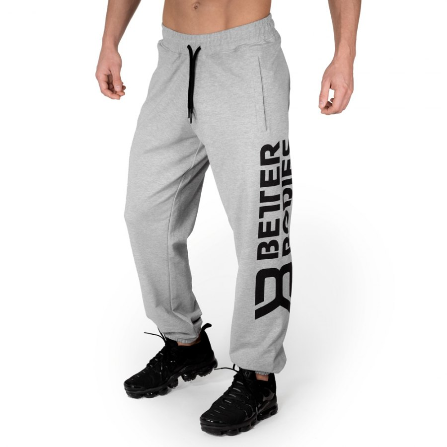 Спортивные брюки Better Bodies Stanton Sweatpants, Light Grey Melange