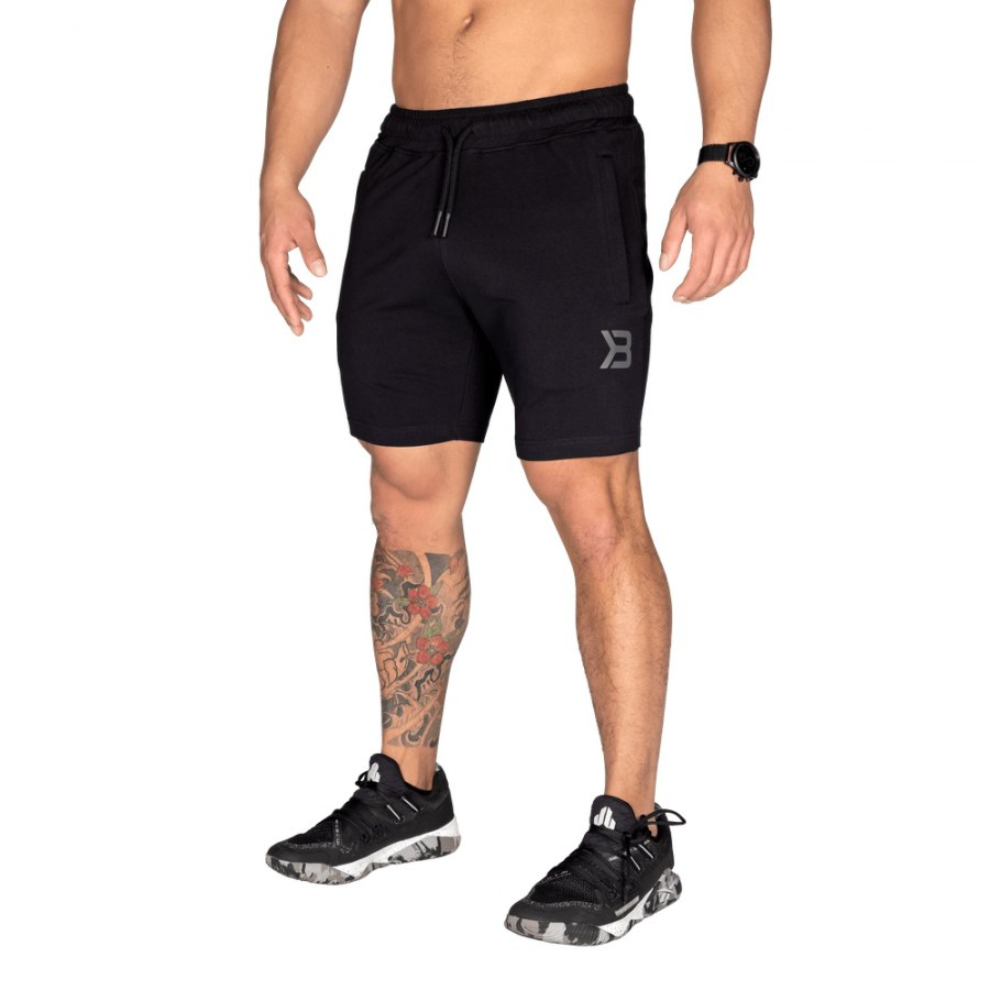 Шорты Better Bodies Tapered Sweatshorts, Black