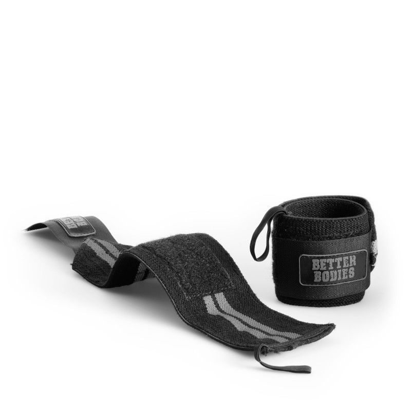 Напульсники Better Bodies Elastic Wrist Wraps, Black