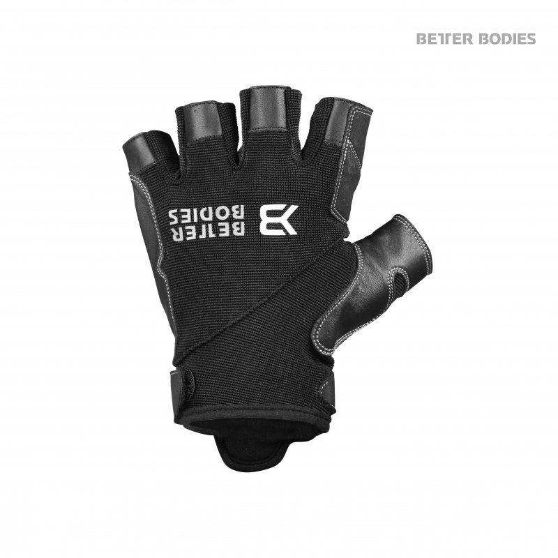 Перчатки BB Pro Gym Gloves, Black/Black
