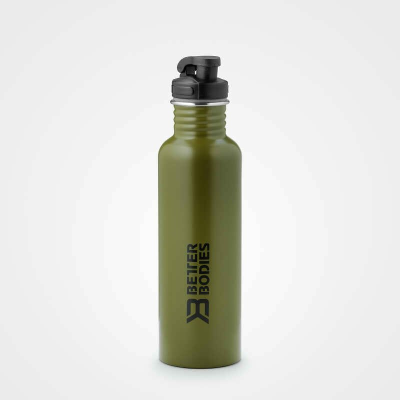 Бутылка для воды Better Bodies Fulton bottle, Military green