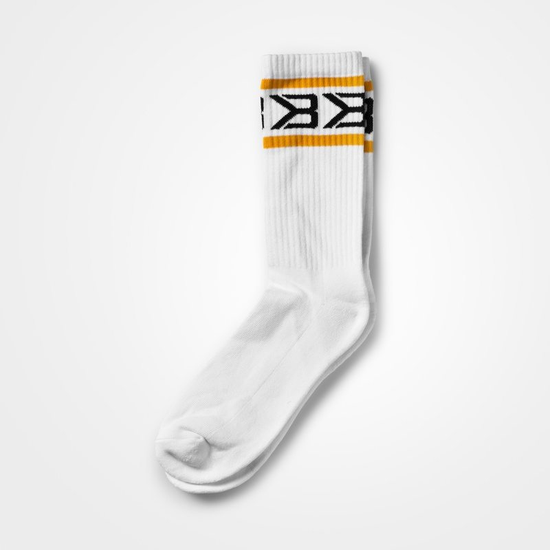 Носки Better Bodies Tribeca Socks 2-pack, White/Yellow