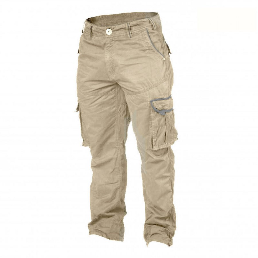 Уличные брюки GASP Cargo Pocket Pant LIMITED EDITION Bazili0, Cement