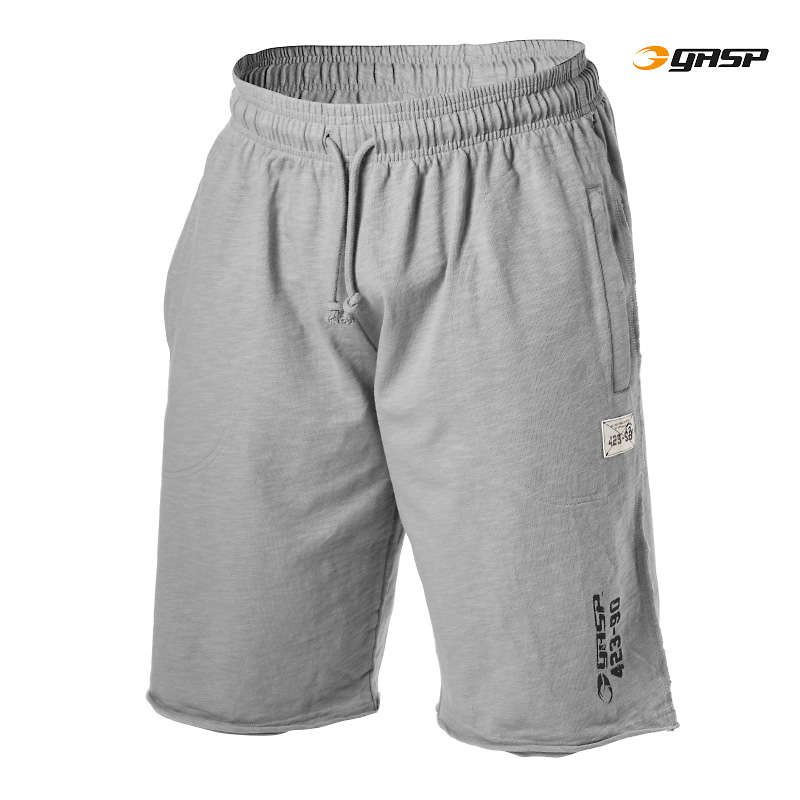 Спортивные шорты GASP Throwback Sweatshorts, Greymelange