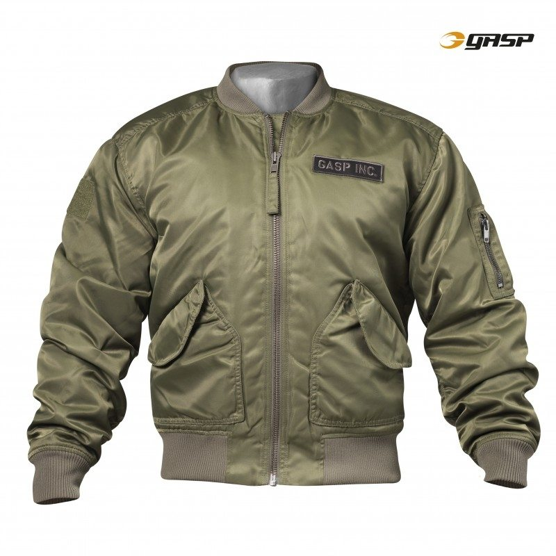 Куртка GASP Utility Jacket, Washed Green
