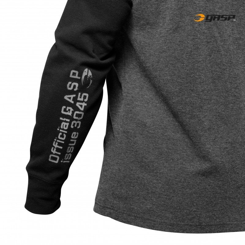 Толстовка GASP Legacy Thermal, Graphite Melange