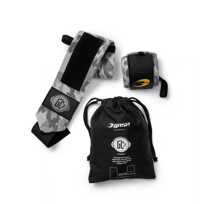 Напульсники GASP World Off Wrist Wraps, Snow Camo