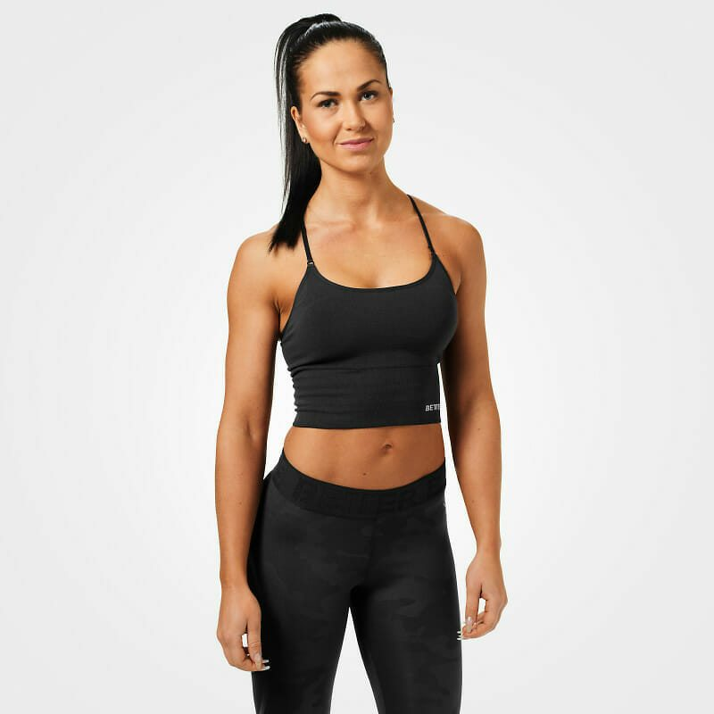 Спортивный топ Better Bodies Astoria seamless bra, Black
