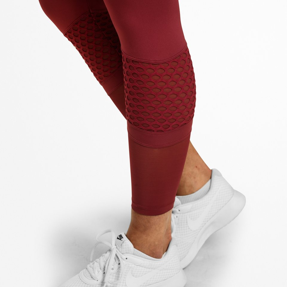 Лосины Better Bodies Waverly Mesh Tights, Sangria Red