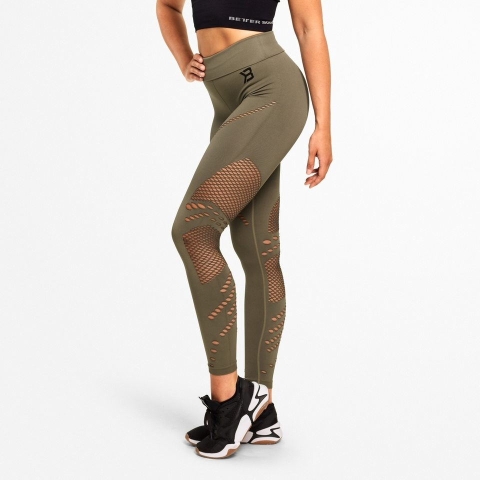 Лосины Better Bodies Waverly Tights, Washed Green