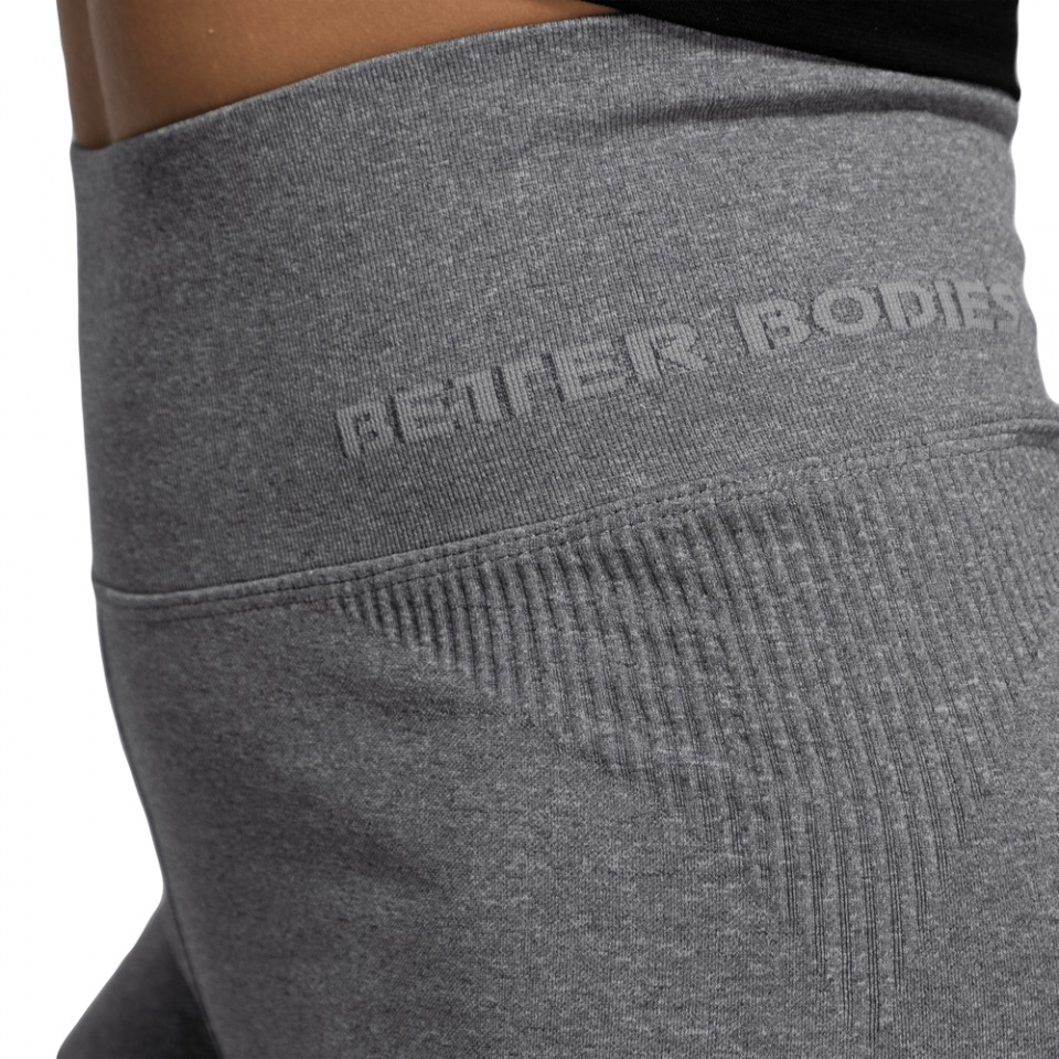 Шорты Better Bodies Rib Seamless Shorts, Grey Melange