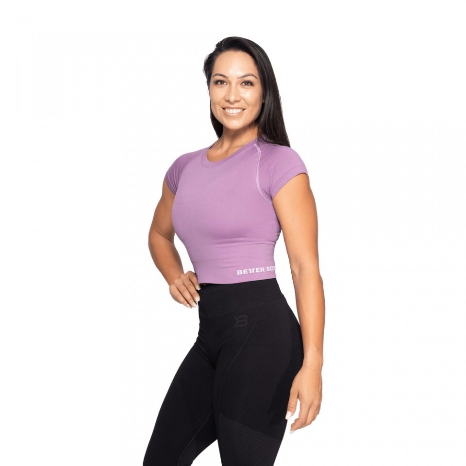 Спортивная футболка Better Bodies Astoria seamless tee, Strong purple