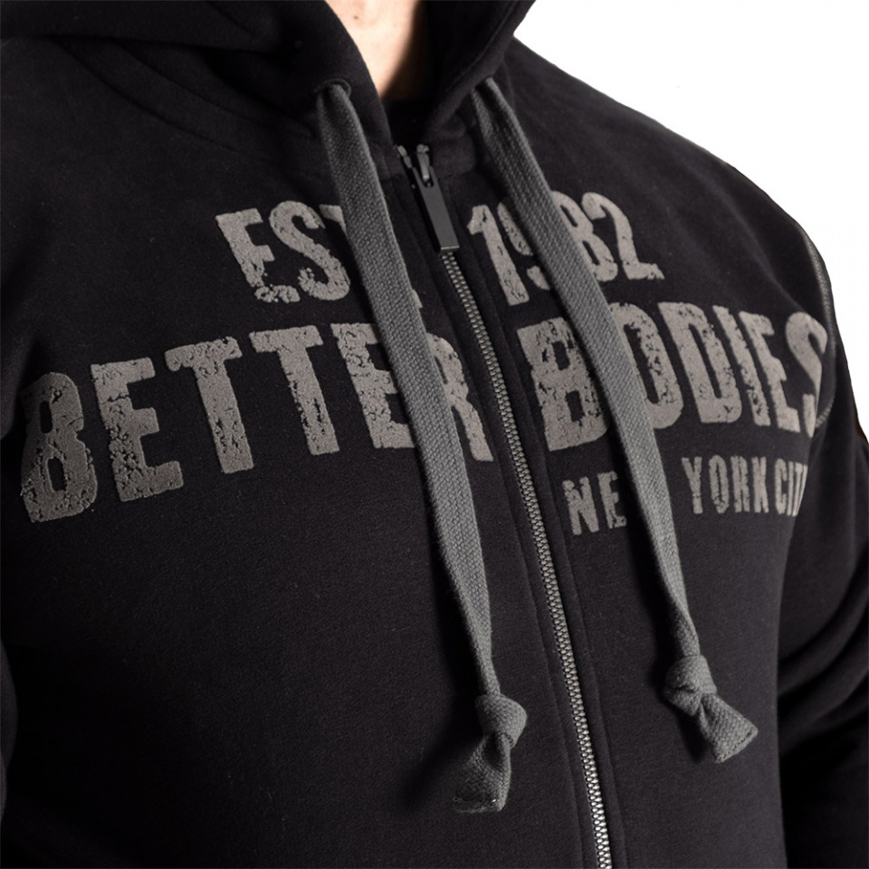 Толстовка Better Bodies Graphic Hoodie, Black