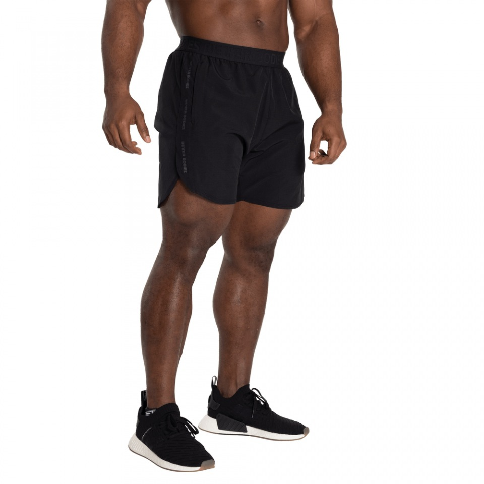 Спортивные шорты Better Bodies Essex Stripe Shorts, Black/Grey
