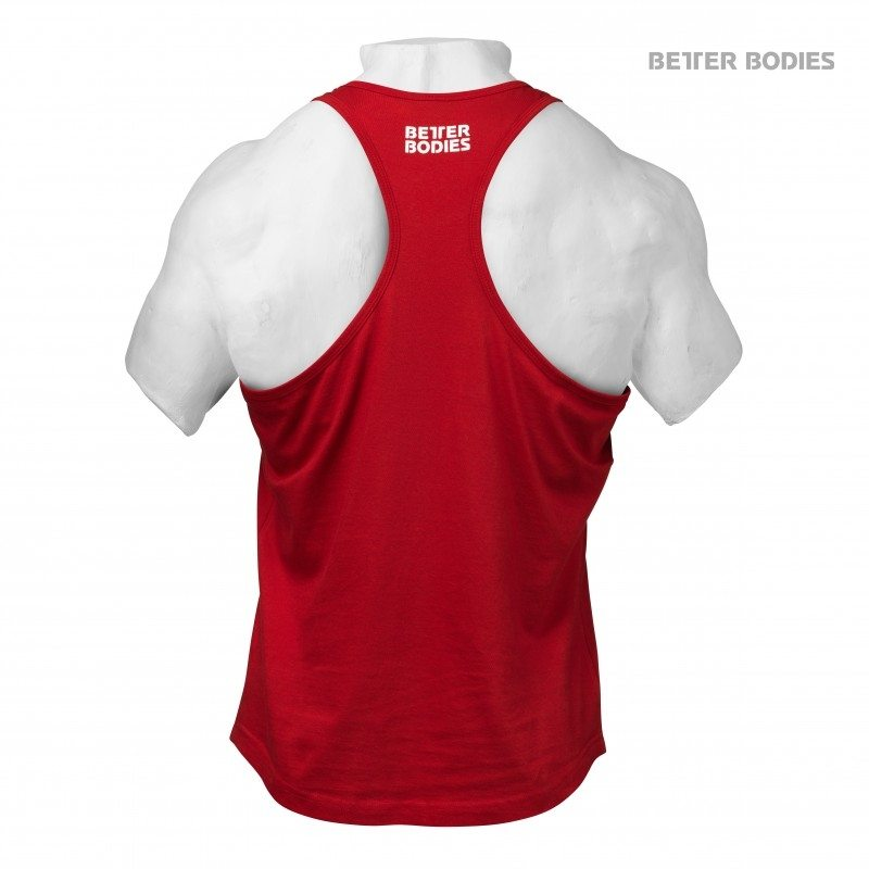 Спортивная майка Better Bodies Essential T-Back, Bright Red