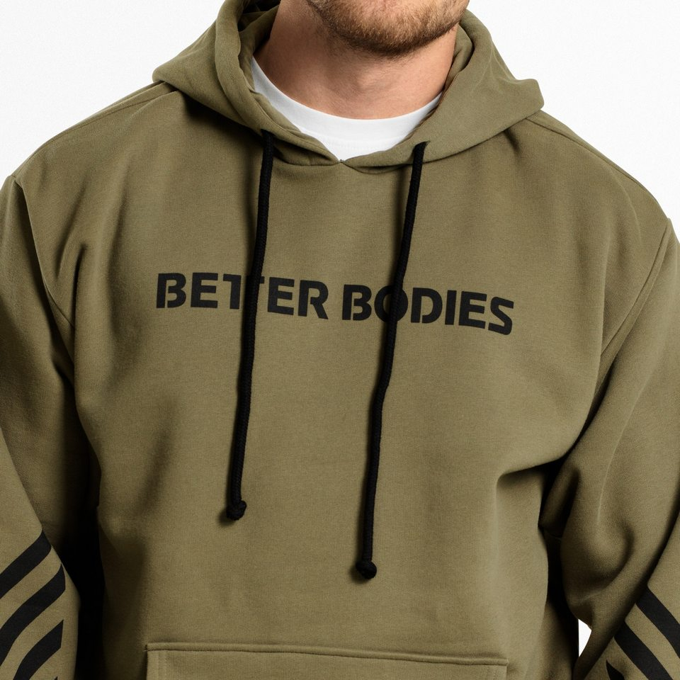 Мужская толстовка Better Bodies Fulton Hood, Wash Green