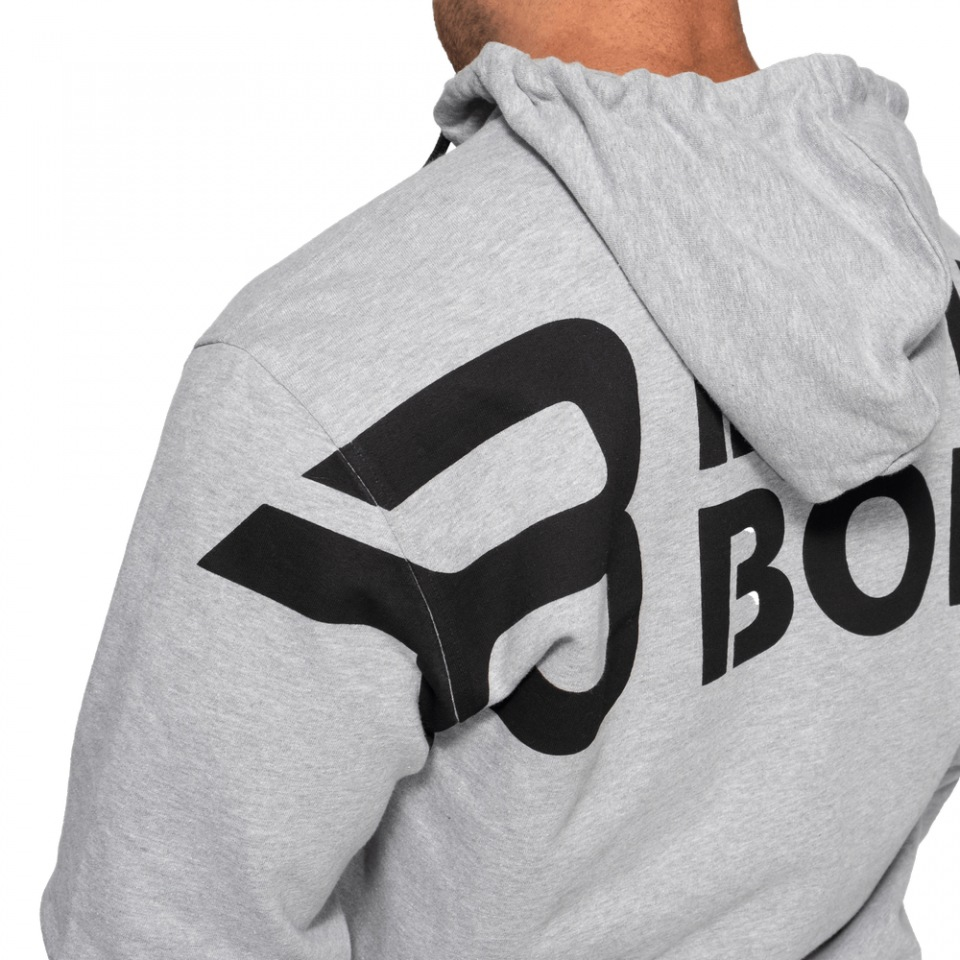 Толстовка Better Bodies Stanton Hoodie, Light Grey Melange