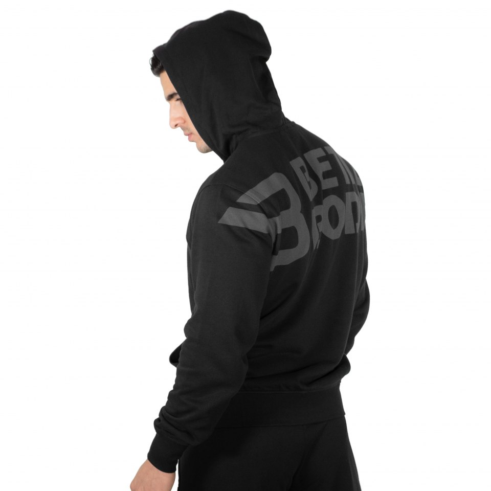 Толстовка Better Bodies Stanton Hoodie, Black
