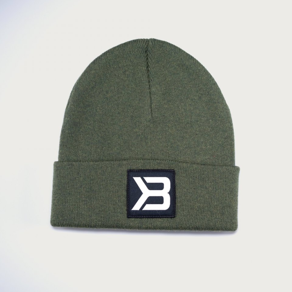 Шапка Better Bodies Tribeca Beanie, Washed Green