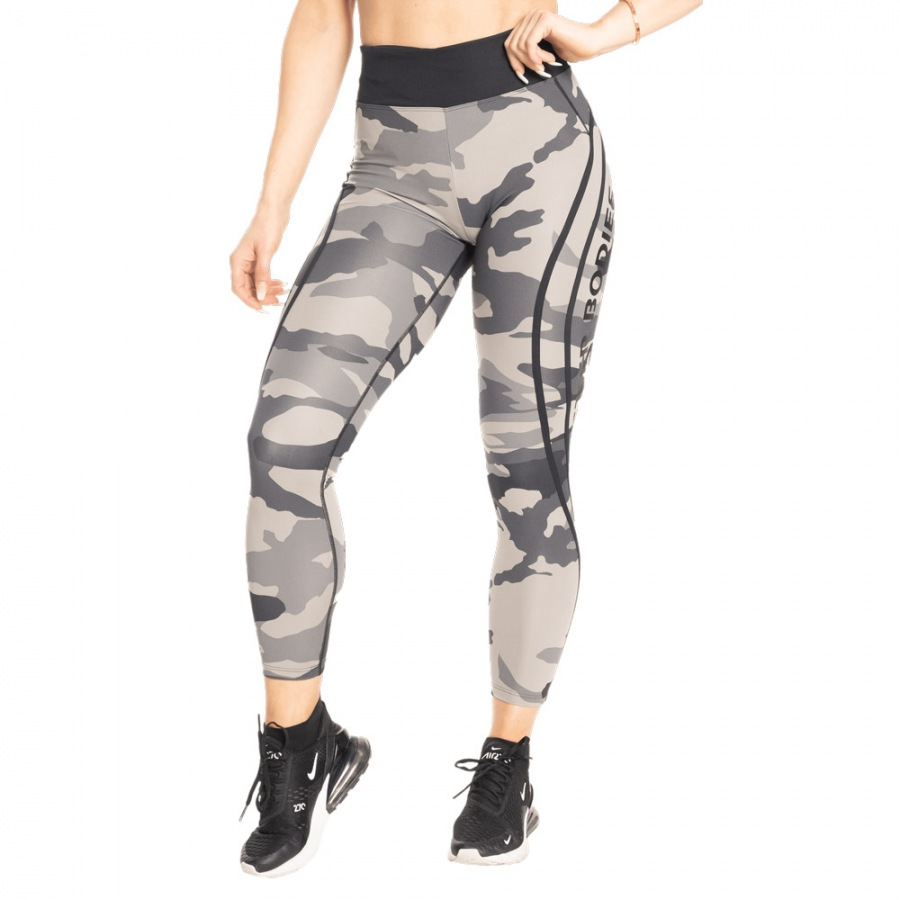 Лосины с высокой талией Better Bodies Camo High Tights, Tactical Camo