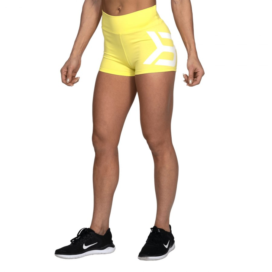 Спортивные шорты Better Bodies Gracie Hotpants, Lemon Yellow