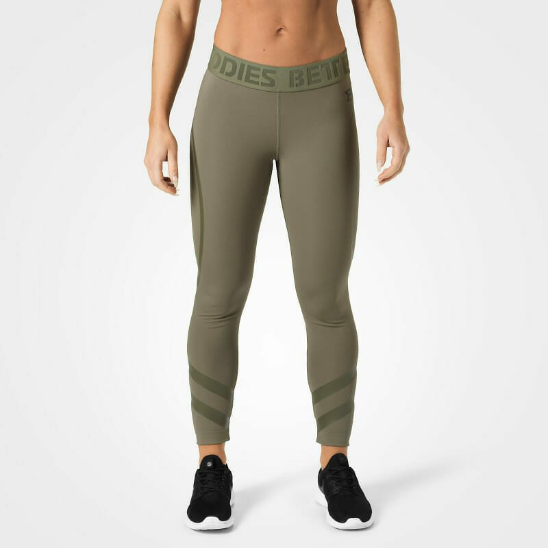 Лосины Better Bodies Chelsea tights, Wash green