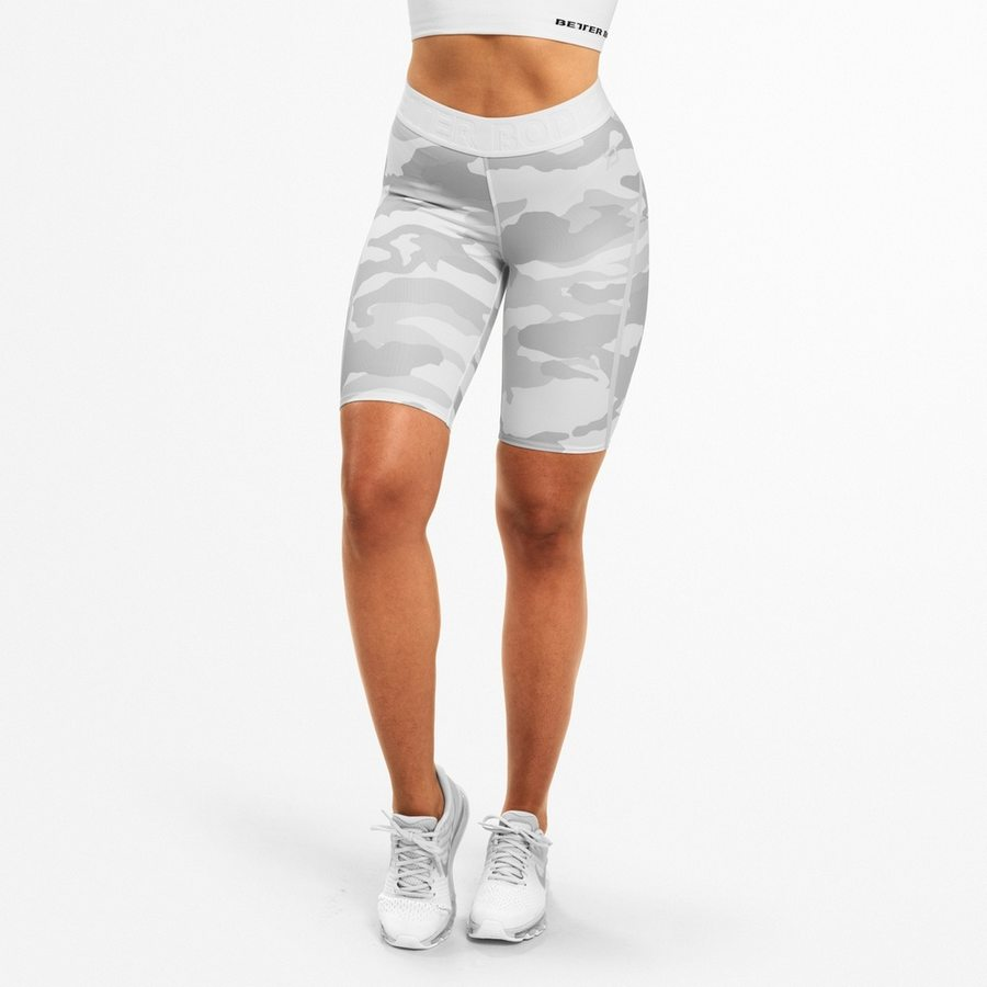 Спортивные шорты Better Bodies Chelsea Shorts, White Camo