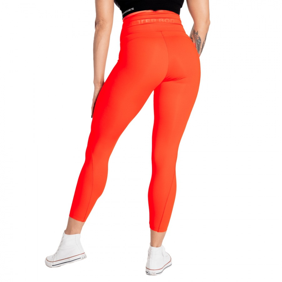Леггинсы Better Bodies High Waist Leggings, Sunset Red