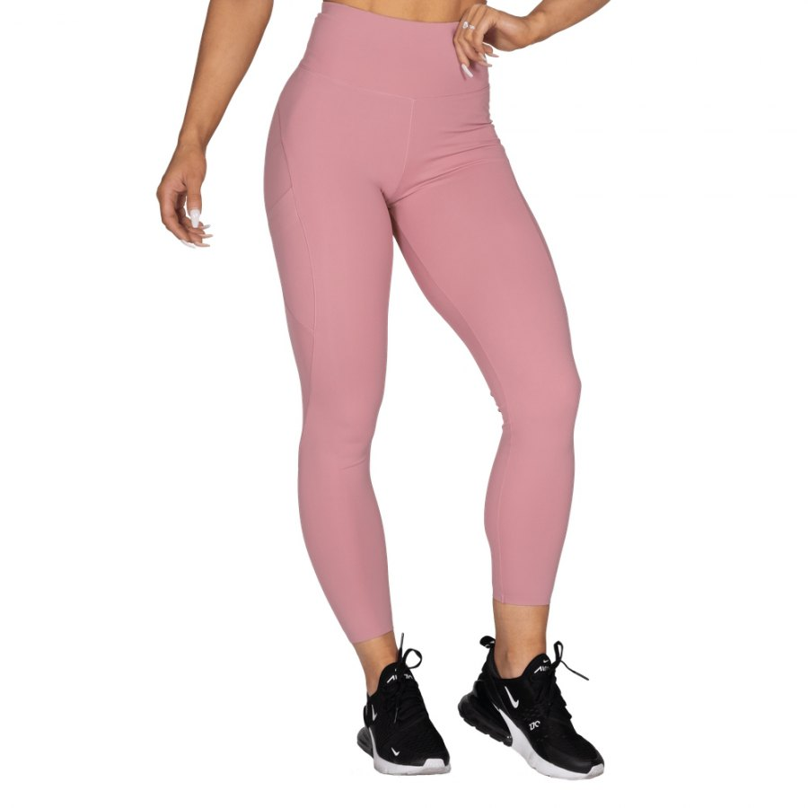 Леггинсы Better Bodies High Waist Leggings, Heather Pink